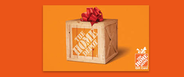 Home Depot Gift Card from Atlantic Water Products